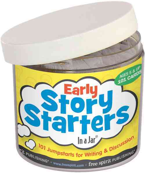 Early Story Starters In a Jar By Free Spirit Publishing (COR)